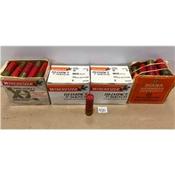 AMMO: APPROX 85 X 12 GA MIXED