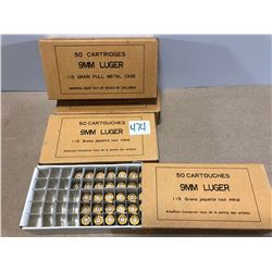 BRASS: 181 X  9 MM LUGER 115 GR