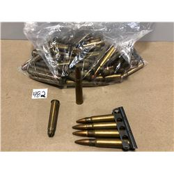 AMMO: 73 X .303 BRIT INCLUDING 1 X CLIP