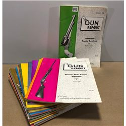 24 ISSUES OF THE GUN REPORT 1978 / 79