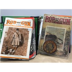40 + ROD AND GUN ISSUES 1920 TO 1940'S
