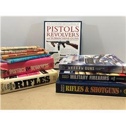 BOX LOT OF FIREARMS REFERENCE BOOKS
