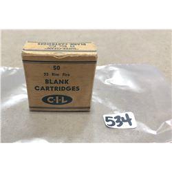 AMMO: 50 X CIL .22 SUPER CLEAN RIM FIRE