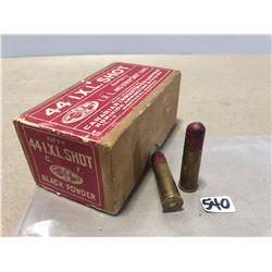 AMMO: 34 X CIL .44 I X L SHOT