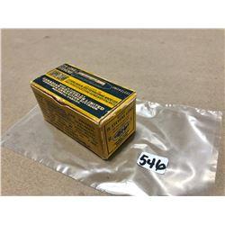 AMMO: 50 X CIL SUPER-CLEAN .25 LONG STEVENS 65 GR