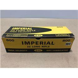 AMMO:  500 X IMPERIAL .22 LR