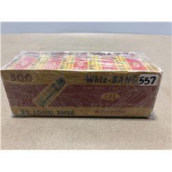 AMMO: 500 X CIL WHIZ-BANG .22 LR