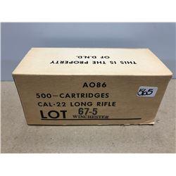 AMMO: 500 X D.N.D .22 LR