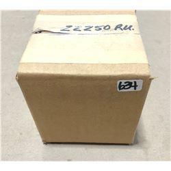 BRASS: 100 X REMINGTON .22 - 250 - SEALED BOX