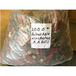 2000 X WINCHESTER AA HULLS