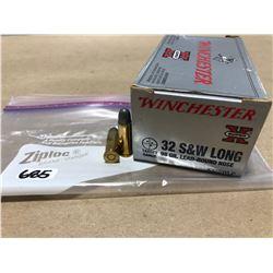 AMMO: 50 X WINCHESTER .32 S&W LONG 98 GR