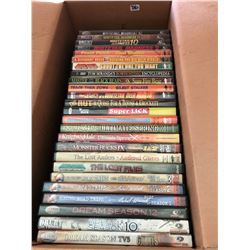 BOX LOT OF HUNTING DVDS