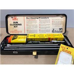 OUTERS GUN CLEANING KIT - LIKE NEW & 2 X TRIGGER LOCKS W / KEYS