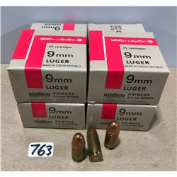 AMMO: 153 X SELLIER & BELLOT 9 MM LUGER