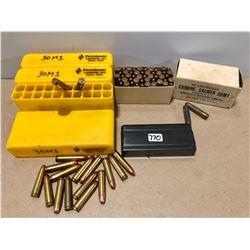 AMMO / MAG: 124 X .30 CARBINE & M1 MAG