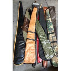 10 X SOFT LONG GUN CASES