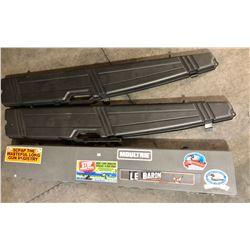 3 X HARD LONG GUN CASES - FIELD LOCKER