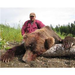 10 DAY ALASKAN GRIZZLY BEAR HUNT