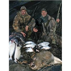 Kodiak Island AK Cast and Blast for Two Package with Two Guns included