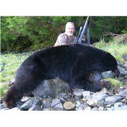 Fully Guided Alaska Costal Black Bear hunt for Two Hunters