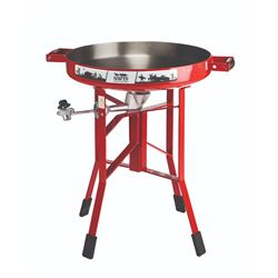"""Firedisc Cooker 24"""" Portable Gas Red w/NWTF Logo"""