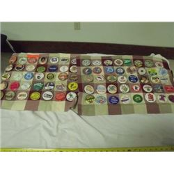 3 assortments of buttons