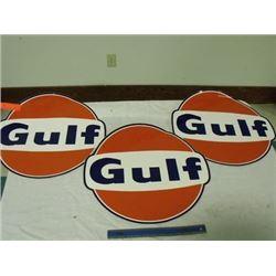 3 Gulf decals