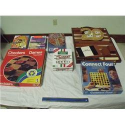 8 asst'd games & puzzles