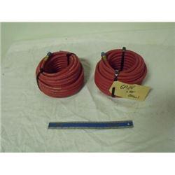 2 50 ft. air hose