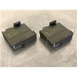 (2) SIEMENS 6ES7 315-2AG10-0AB0 CPU MODULE