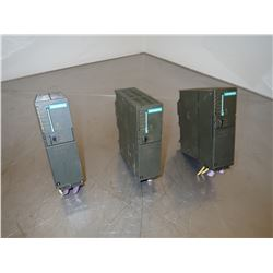 (3) SIEMENS 1P 6ES7 315-2AG10-0AB0 SIMATIC S7