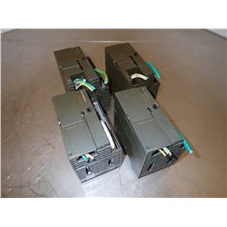 (4) SIEMENS 1P 6GK7343-1EX11-0XE0 SIMATIC NET CP INDUSTRIAL ETHERNET