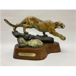 Bronze, Daniel Parker, North American Collection, Mountain Lion
