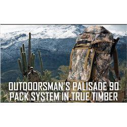 Outdoorsmans Palisade 90 BackPack System - True Timber