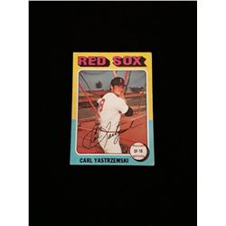 1975 Topps Carl Yastrzemski Boston Red Sox