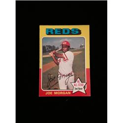 1975 Topps Joe Morgan Cincinnati Reds