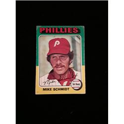 1975 Topps Mike Schmidt Philadelphia Phillies