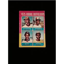 1975 Topps Jim Rice Rookie Card Boston Red Sox