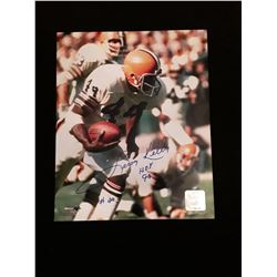 Leroy Kelly Signed Autograph Photo W/ COA