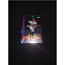 2019 Topps Chrome Retro '84 Giancarlo Stanton Refractor New York Yankees