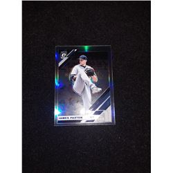 2019 Topps Chrome James Paxton Refractor Yankees