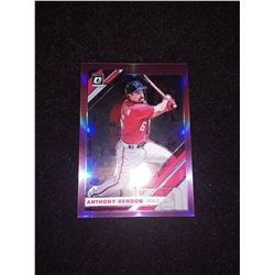 2019 Donruss Optic Pink Prizm Anthony Rendon