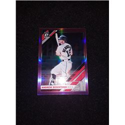 2019 Donruss Optic Pink Prizm Andrew Benintendi Boston Red Sox