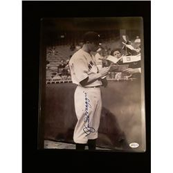 Joe Dimaggio Signed Auotgraph 8x10 Photo W/COA
