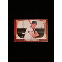 1955 Bowman Eddie Mathews