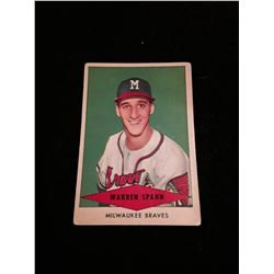 1955 Red Heart Warren Spahn