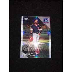 2019 Topps Chrome 150 Years Insert Refractor Ozzie Smith