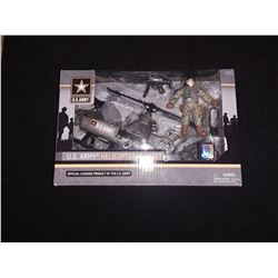 US Army Helicoptor  Play Set