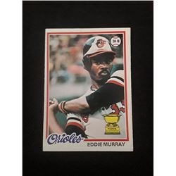 1978 Topps Eddie Murray Rookie Card