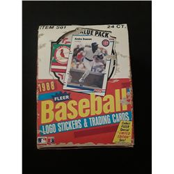 1988 Fleer Complete Wax Box